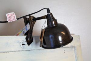 Plåtlampa brun